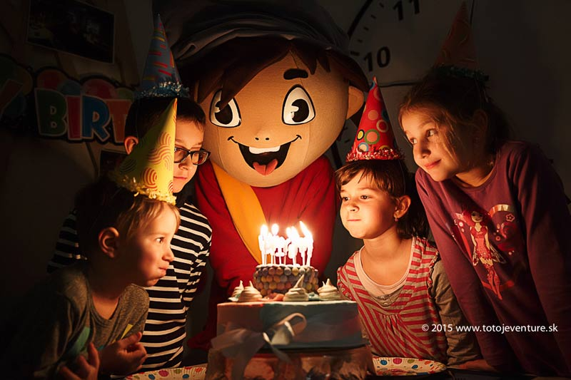 Zážitkové detské oslavy