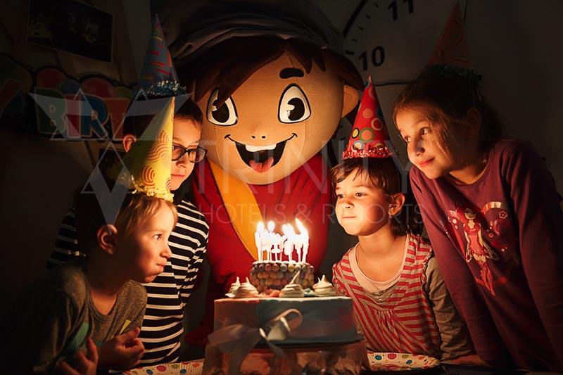 Detská párty v TRINITY Hotels