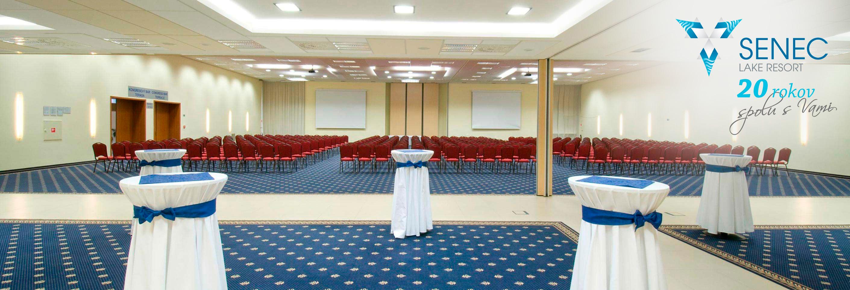Najväčšia kongresová sála na Slovensku! (650 osôb).